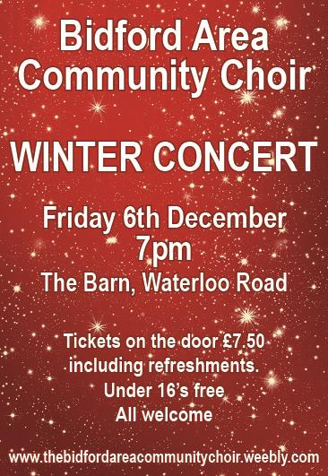 BACC Winter Concert Poster