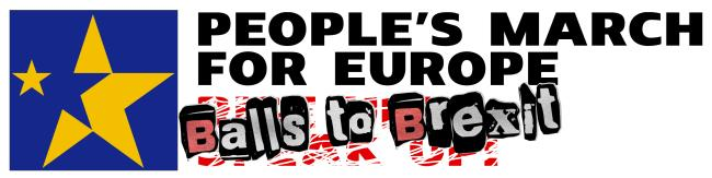 People's March for Europe - September 9th 2017