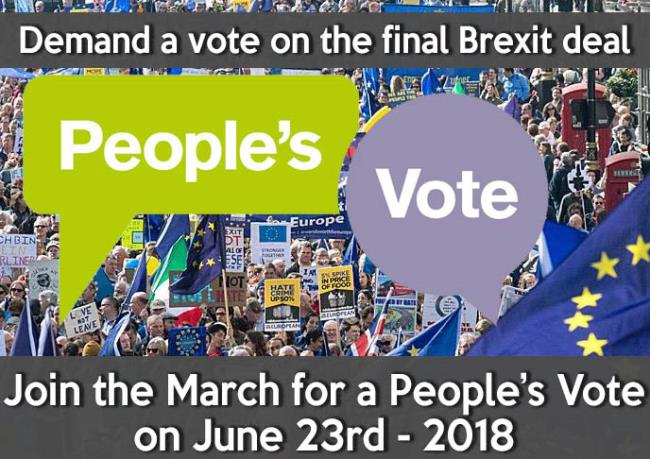 people's vote march - 23rd June 2018