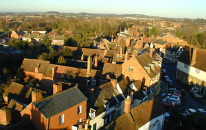 Roof Tops from Church Tower