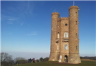 Breathtaking views from Broadway Tower